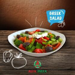 Greek Salad By Alfa Pizza