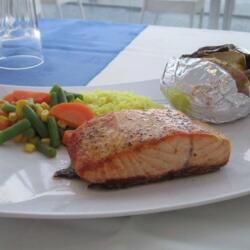 Monte Carlo Restaurant Salmon