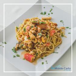 Monte Carlo Restaurant Seafood Pasta