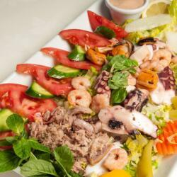 Monte Carlo Restaurant Seafood Salad