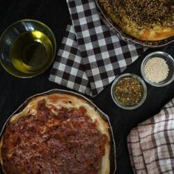 Jacks Pizza Zataar Or Lahmajoun