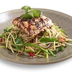 Wagamama Grilled Salmon With Soba Noodles