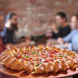 Pizza Hut Cheesy Bites Pizza