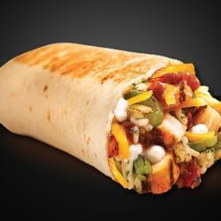 Taco Bell Fajita Burrito