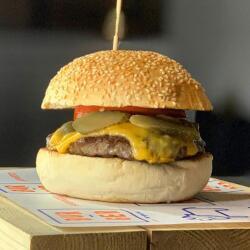 Bur Ger Smashin Cheese Burger