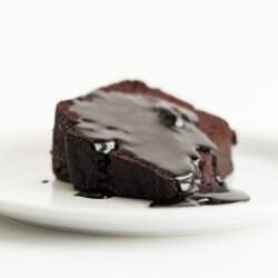Pizza Express Chocolate Fudge Cake